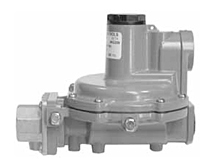 Fisher® Integral Two-Stage Regulators
